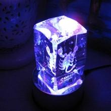 天蝎座-七彩水晶12星座