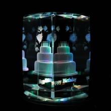 生日快乐-水晶定制礼物