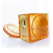 琉璃和谐发展茶叶罐