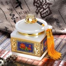 玉石和谐发展茶叶罐