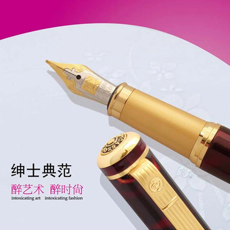 毕加索法国绅士系列镀金笔   笔   学习   食品休闲   送高清图片