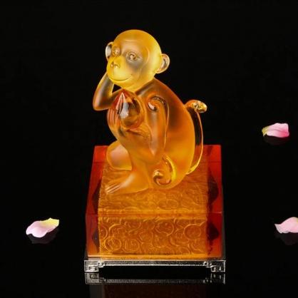 博之源琉璃生肖猴