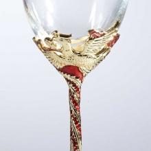 珐琅彩龙凤婚礼对杯