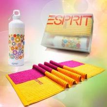 ESPRIT运动水壶毛巾套装