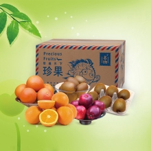 名物进口水果珍果礼盒(约重4300克全国免费配送)