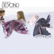 博洋家纺(BEYOND)莫代尔暖绒围巾