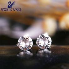 施华洛世奇时尚水晶钻石耳钉