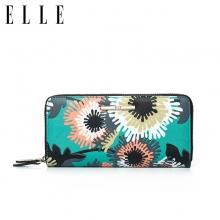ELLE/她 2017新款钱包长款票夹女士手包