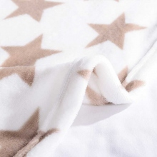 喜芙妮150*200CM法莱绒原料星星天空毯