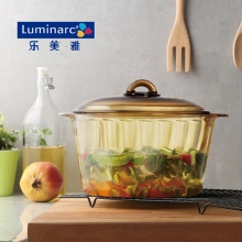 乐美雅香榭丽琥珀锅(容量5L)
