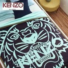 凯卓(KENZO)虎头双面加厚倍柔毯(150×200cm )