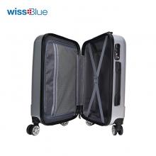 维仕蓝20寸时尚拉杆箱(PC+ABS材质)