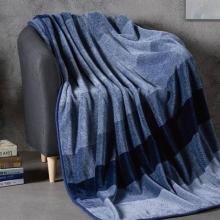 HUGO BOSS色织暖柔毯(无静电、不掉毛)