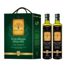 黄金树特级初榨橄榄油双支装礼盒