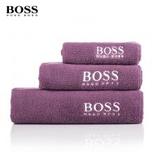 HUGO BOSS可裁剪方面浴巾三件套装
