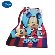 迪士尼米奇笑脸丝绒毯
