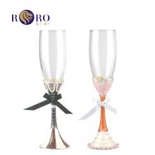罗比罗丹(RORO)珐琅彩水晶婚礼对杯