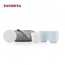 多样屋(TAYOHYA)蓝颜旅行茶杯套装