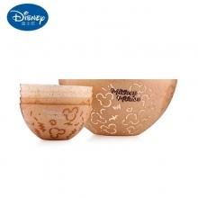 迪士尼原始纹理系列双色果盘五件套