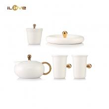 爱家优雅茶具五件套