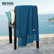 HUGO BOSS湖蓝色/橙色披肩(二选一)