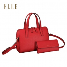 ELLE(她)时尚波士顿款套装女包