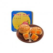 荣华双黄白莲蓉月饼+星巴克星情月饼