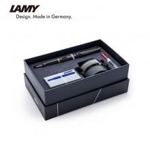 凌美(LAMY)恒星钢笔F+黑色墨水礼盒套装