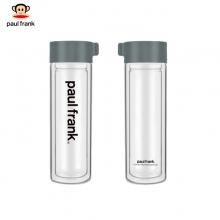 大嘴猴(Paul Frank)双层高硼硅玻璃杯