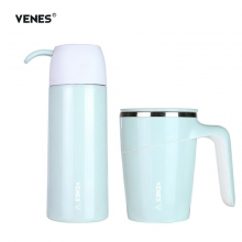 菲驰(VENES)创意男女朋友保温杯时尚套装