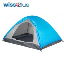 维仕蓝(wissBlue)双人双层户外帐篷