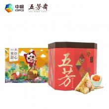 五芳斋大大粽子礼盒+中粮蜜语甜...