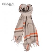 艾丝雅兰(ELSYALN)品格羊毛大围巾