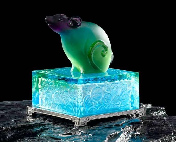 水晶生肖鼠