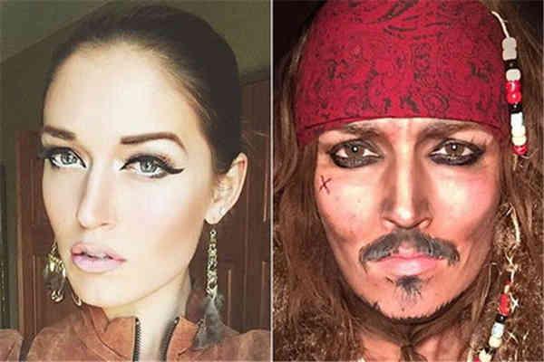 化妆师变身百位名人