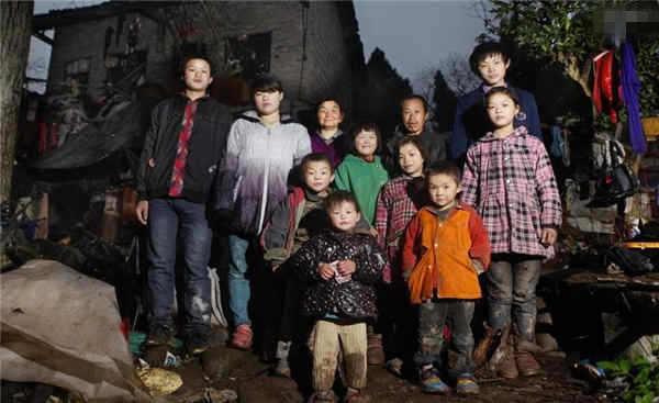 夫妻生11个孩子